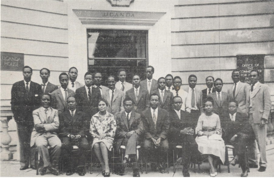 Uganda Association, London, 1960